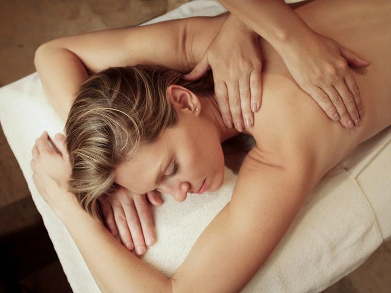 Therapeutic back massage