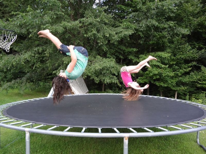 Trampolines for Health and Fitness